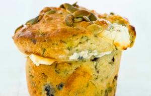 Muffin salati allo yogurt e zucchine